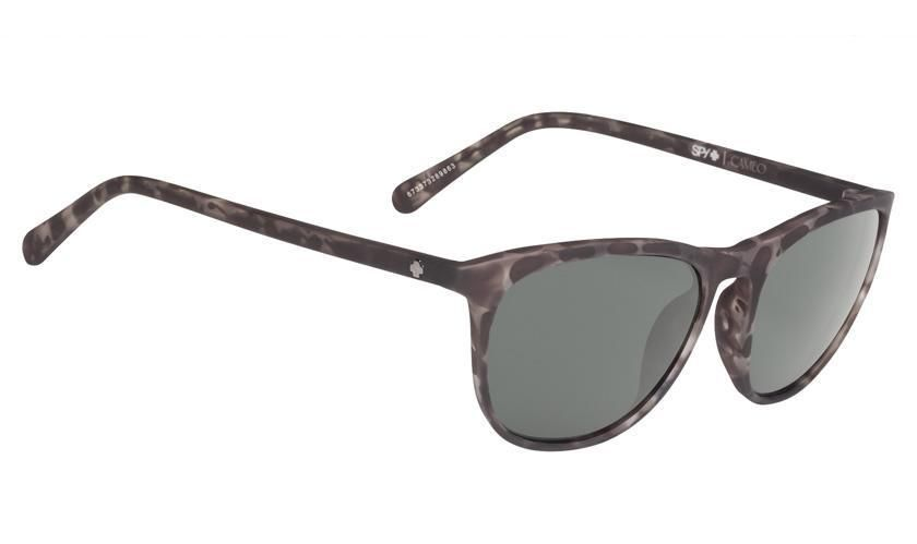 9873a9197c Spy Cameo Soft Matte Smoke Tort - Happy Gray Green Sunglasses