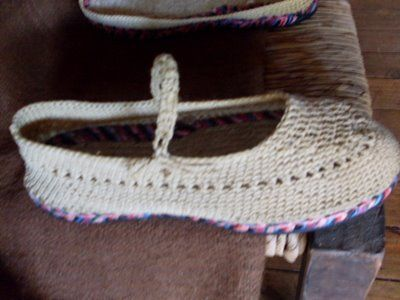 sandalias a crochet | Artesanías a Mano: Tejido de zapatos a crochet