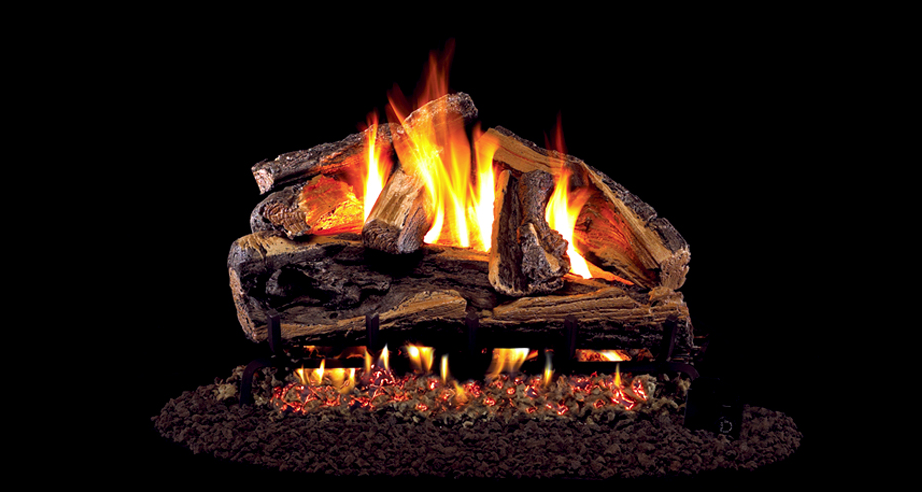 Real Fyre Gas Logs Rugged Split Oak http//www