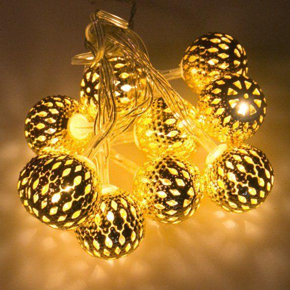 Lampki Led Na Baterie Ozdobne światełka Led