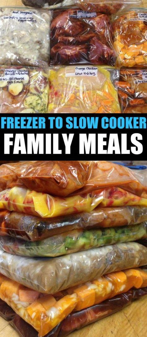 30 Crockpot Freezer Meals images