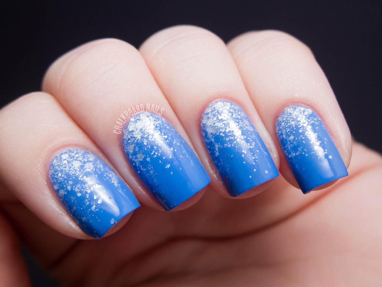 Cirque Objet d\'Art Glitter Gradients   Chalkboard nails, Gradient ...