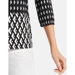 Photo of 3/4 Arm Shirt mit Muster-Mix Grau TaifunTaifun