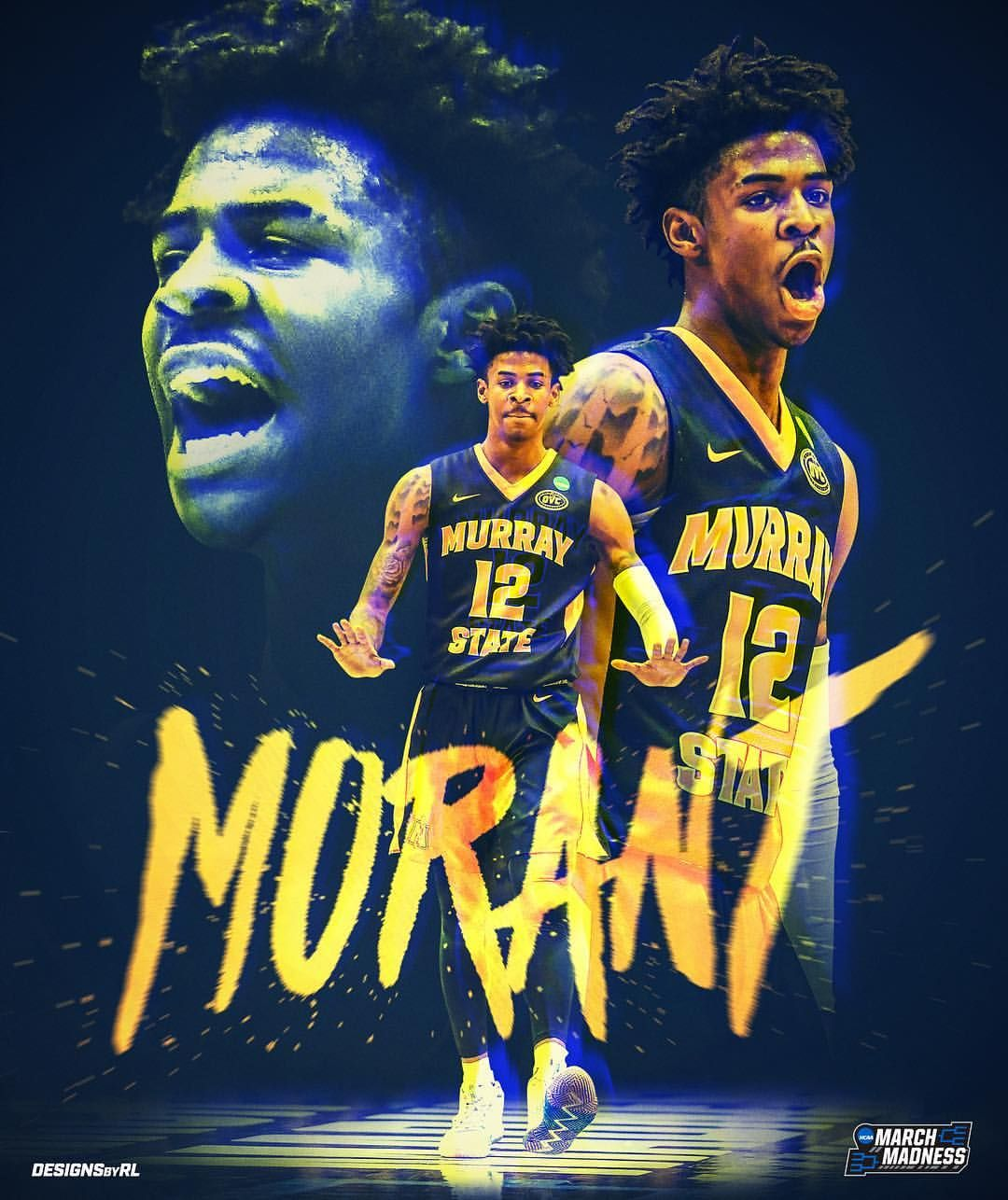Ja Morant And A Huge Game Against Marquette Will He Repeat His Last Round And Lead Racershoops To Nba Pictures Nba Basketball Art Nba Wallpapers