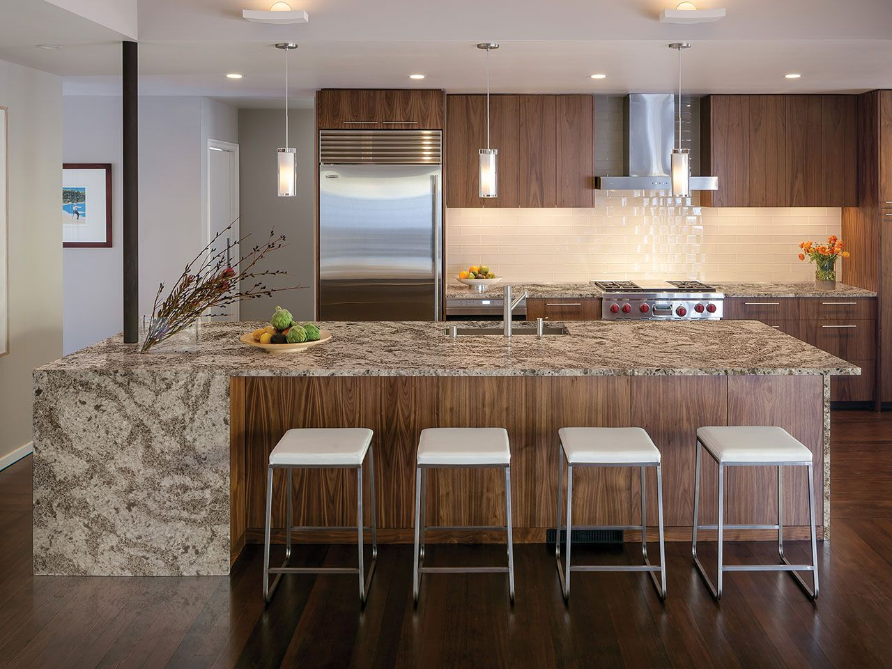 Galloway By Cambria Quartz Kitchen Design Gallery Kitchen Design Contemporary Kitchen