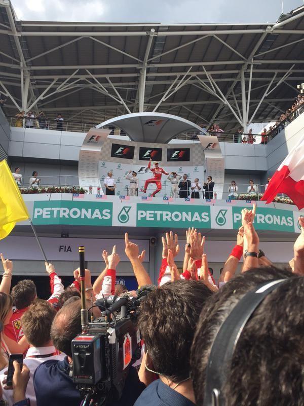 2015 F1 말레이시아 그랑프리 몇 개의 장면들