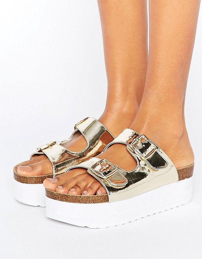 KG Bettie Flatform Sandal at asos.com