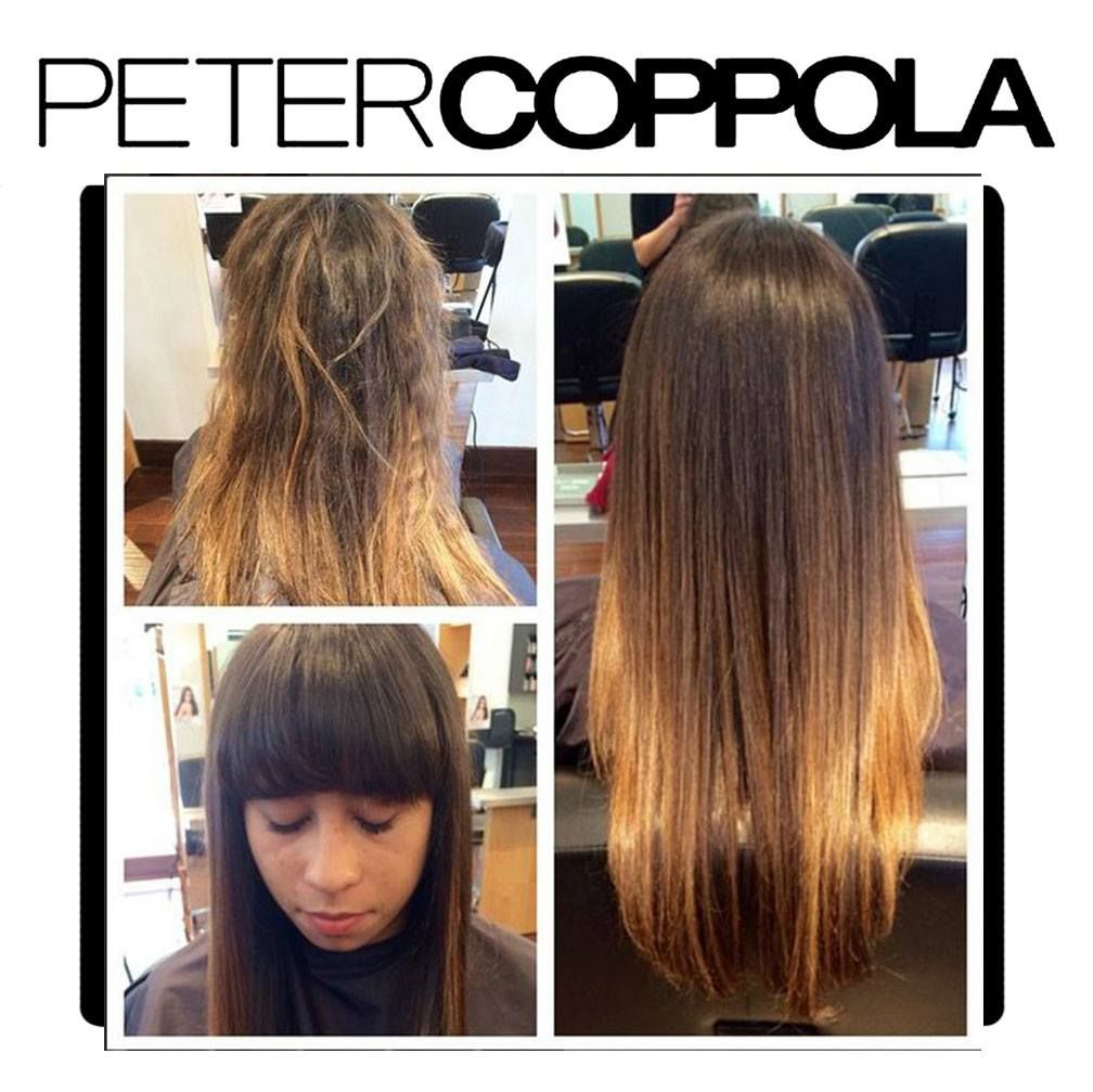 Pin en Keratin Treatment Before & After
