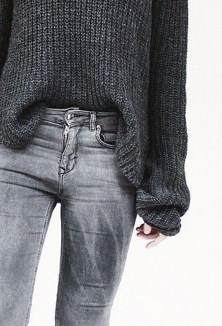Fonkelnieuw Grijze jeans | Grijze jeans, Kleding, Grijze broek outfit HM-94