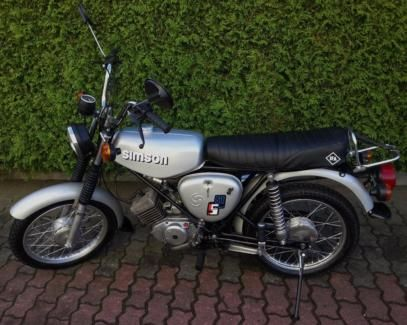 top simson s51 enduro 4 gang in leipzig alt west ebay kleinanzeigen motorcycles from. Black Bedroom Furniture Sets. Home Design Ideas