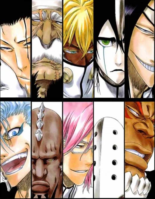 Top 10 Strongest Espada In Bleach In 2020 Bleach Anime Bleach Characters Bleach Manga