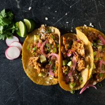 Sous Vide Shredded Chicken Tacos #shreddedchickentacos