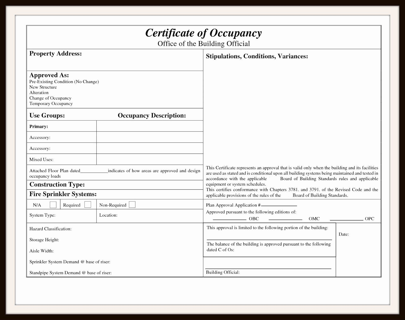 Letter Of Occupancy Template from i.pinimg.com