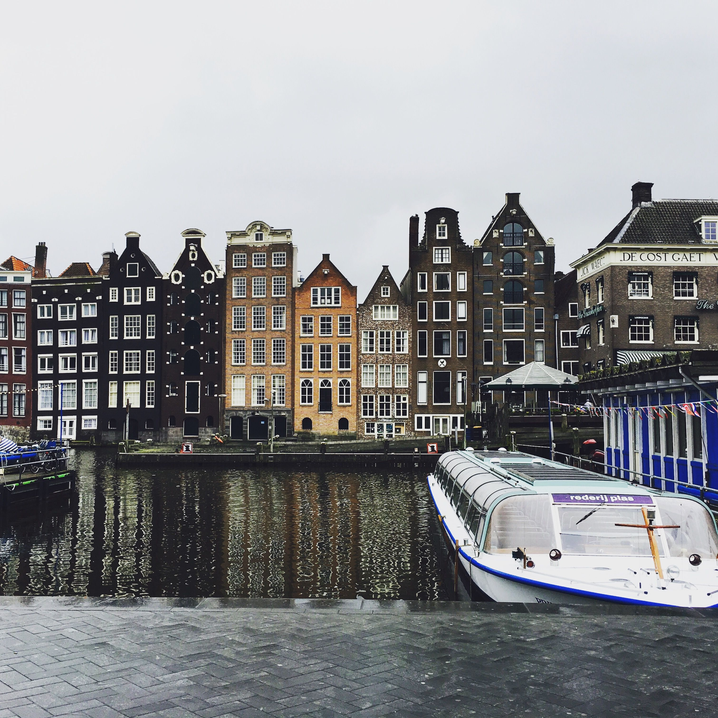 Amsterdam, Netherlands    #travel #Amsterdam #Netherlands #houses #wanderlust #adventure #canals
