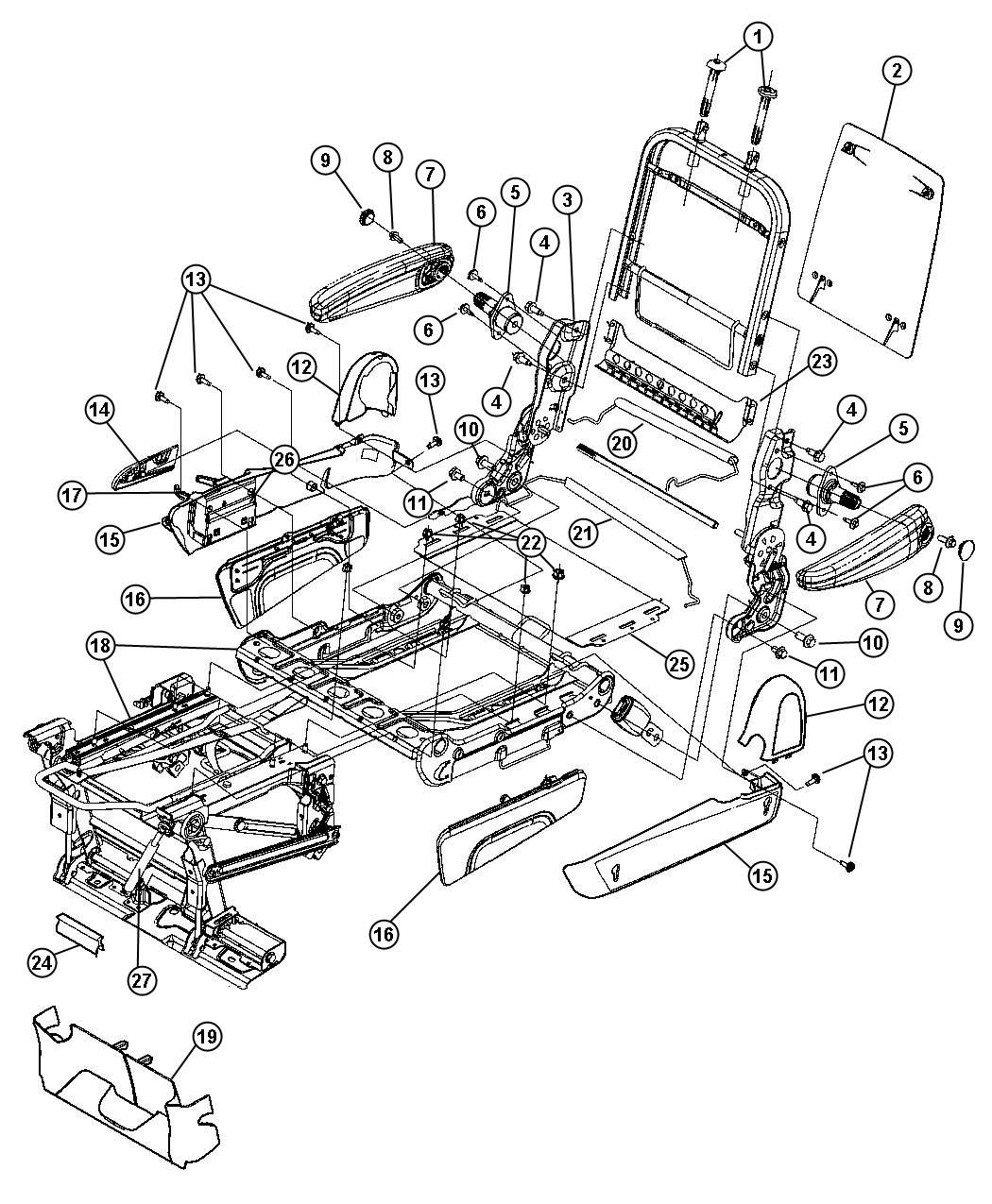 image result for interior layout of chrysler voyager blueprint