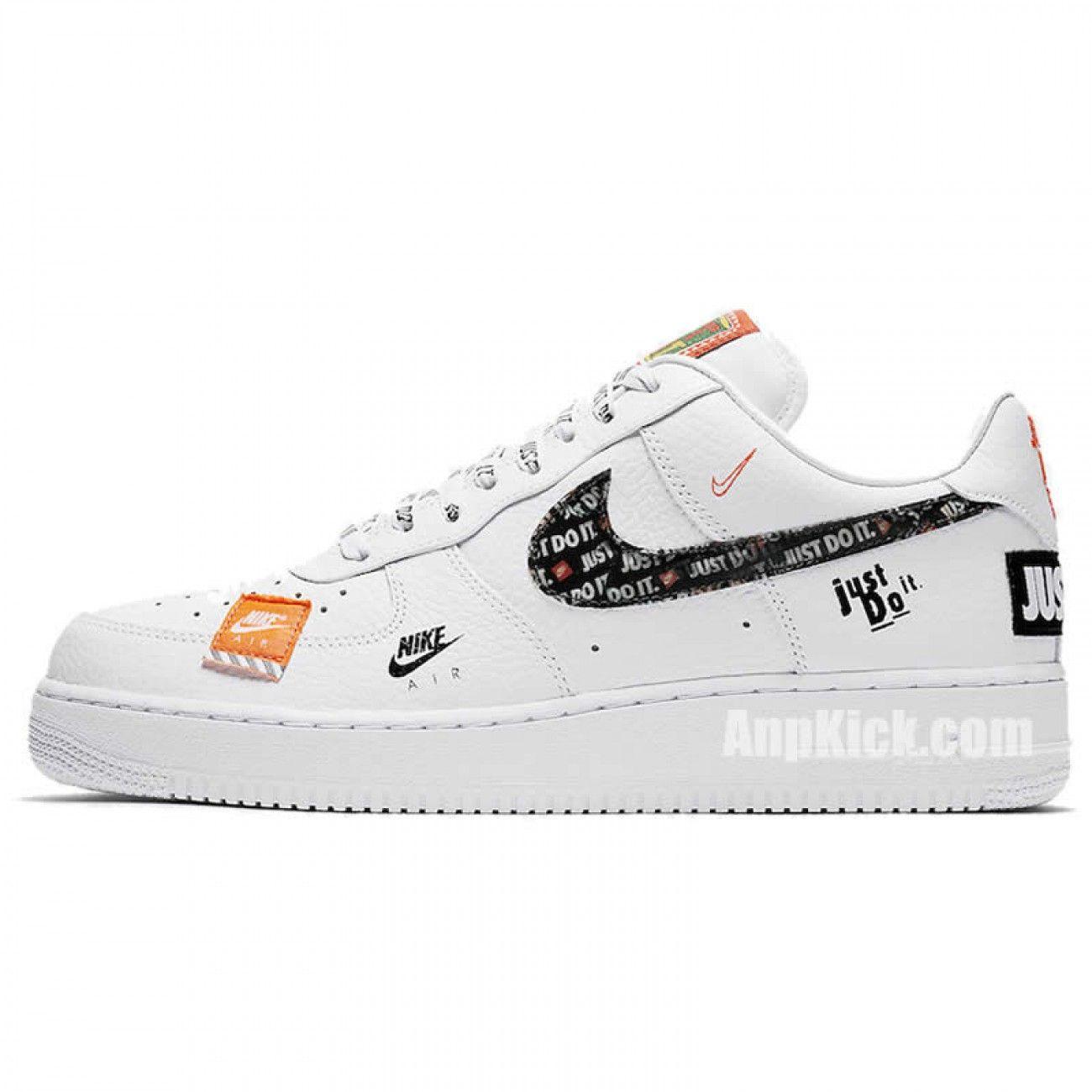 Nike Air Force 1 07 Low Premium Just Do It Jdi Custom Air