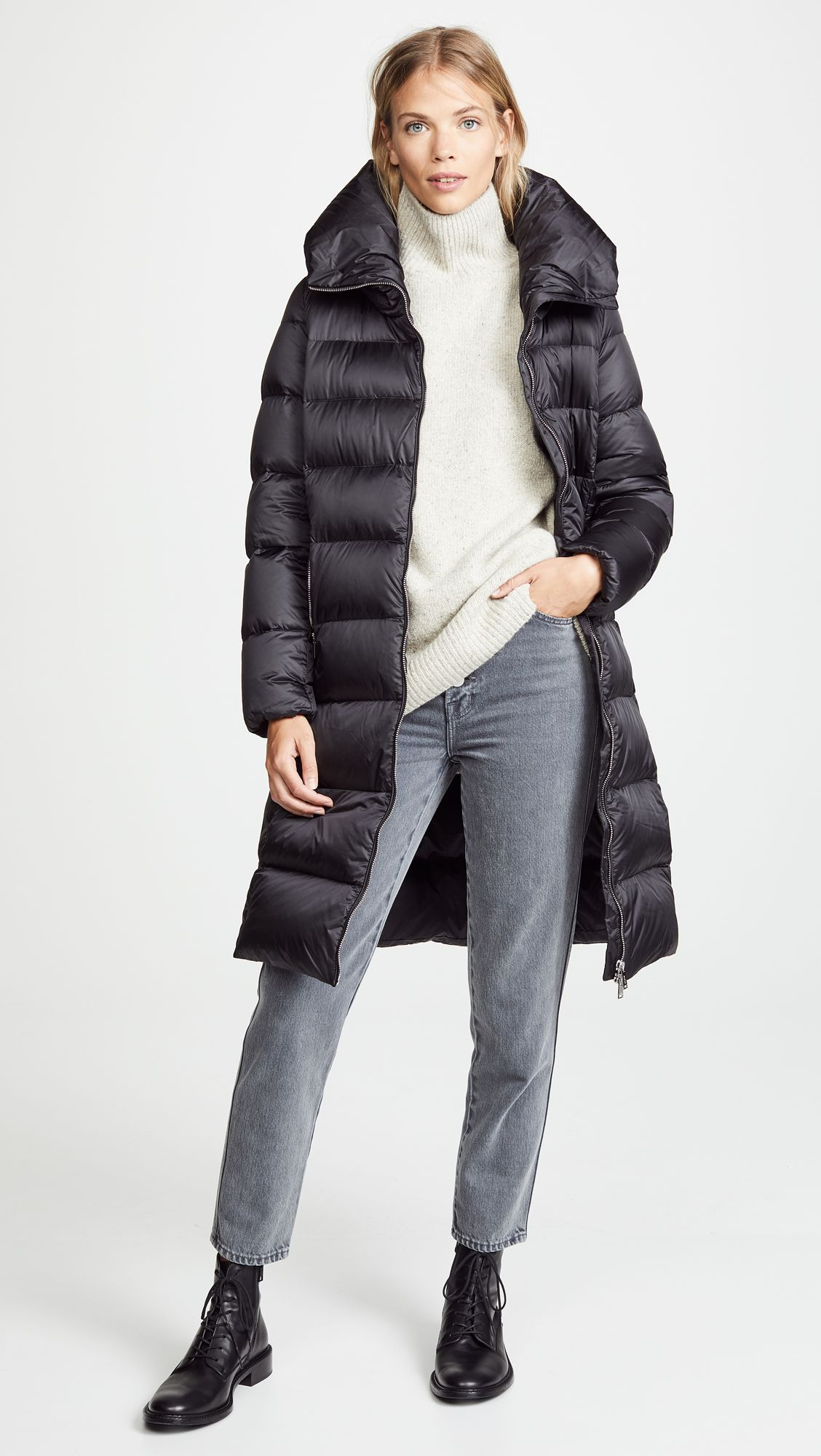 743ced7fa48 Long Down Coat in 2019 | The 5 Biggest Down & Puffer Trends | Long ...