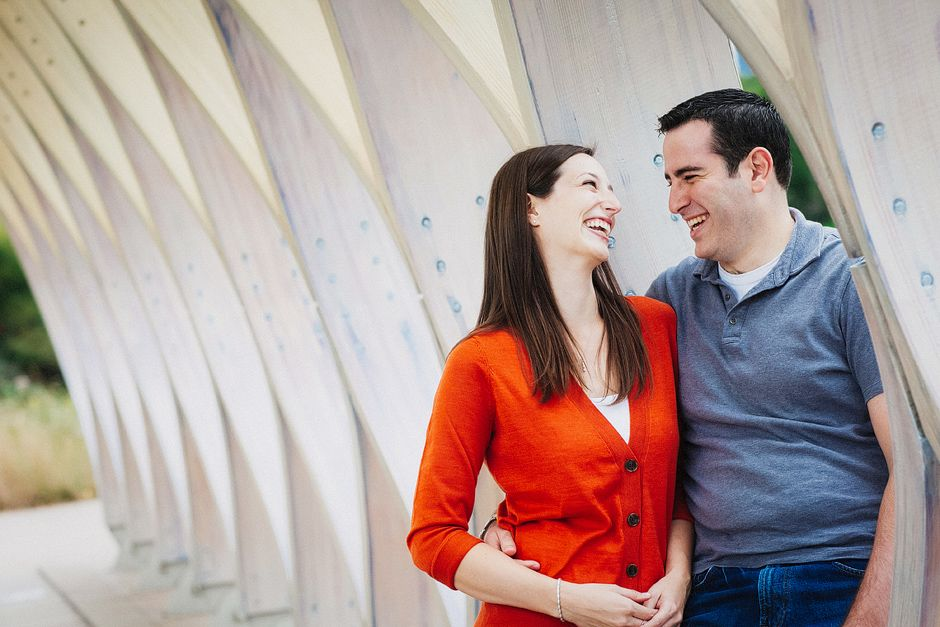 Lincoln Park and Downtown Chicago Engagement Photography, Fall Engagement Photographer