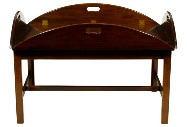 English Butler 39 S Tray Coffee Table English Products And Trays