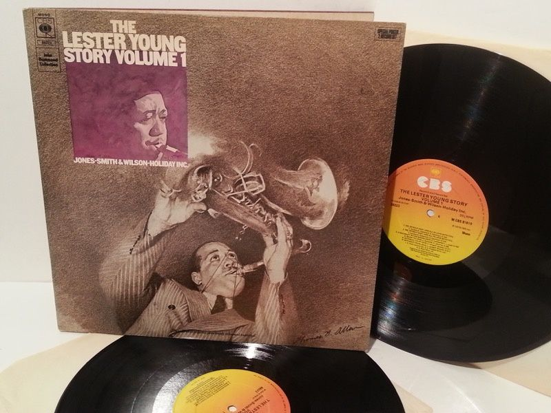 LESTER YOUNG the lester young story volume 1, gatefold, double album, 88223 - JAZZ, BLUES, Jazz-rock-prog, nearly jazz and nearly blues!