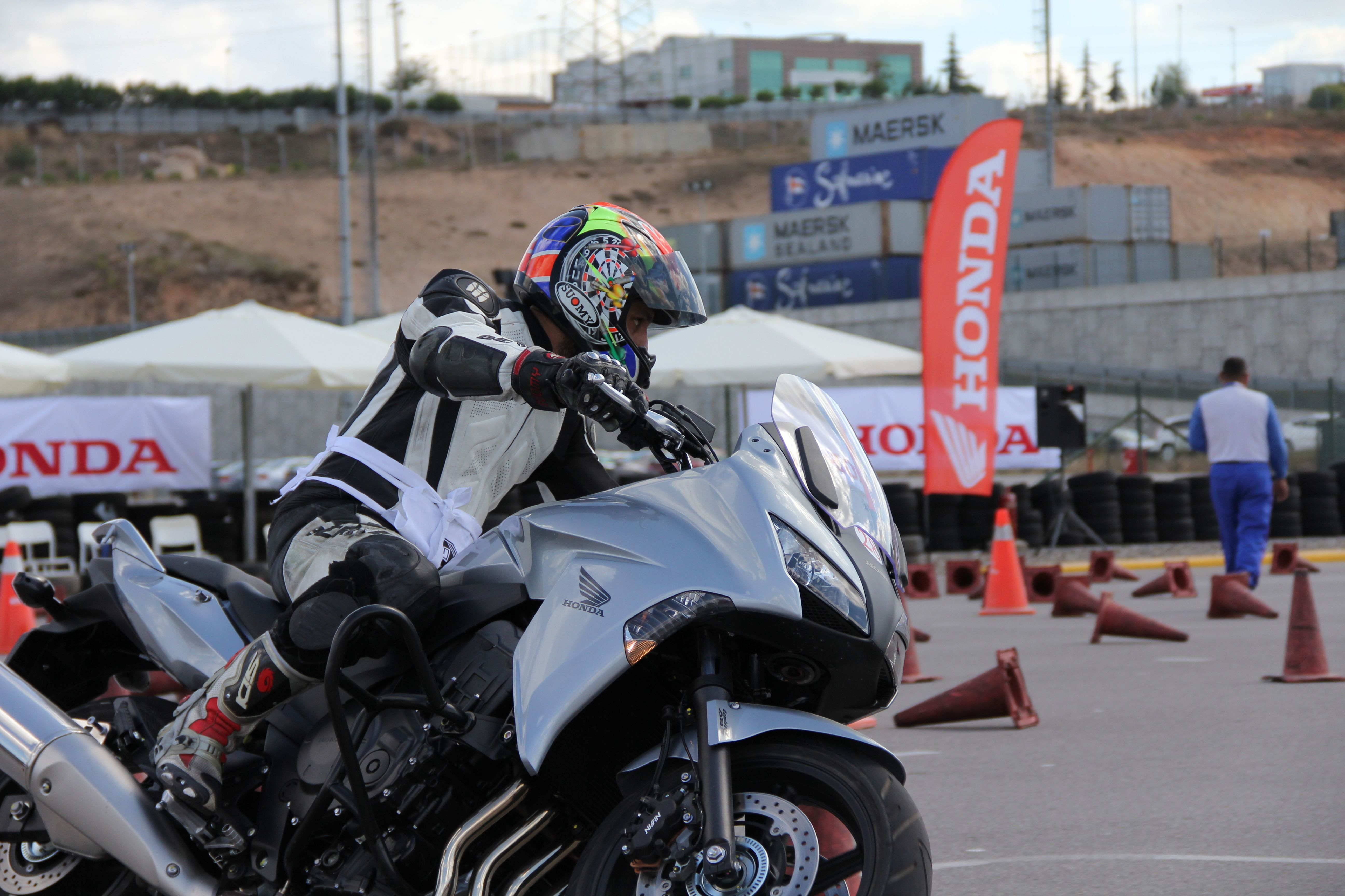 honda turkey, motorcycle users to integrate, to stress the