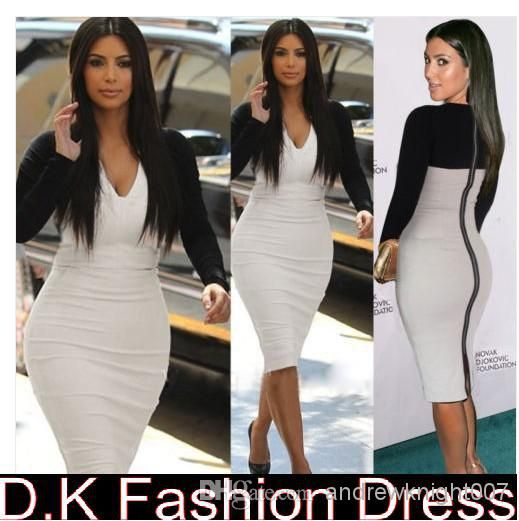 All white bodycon plus size dresses