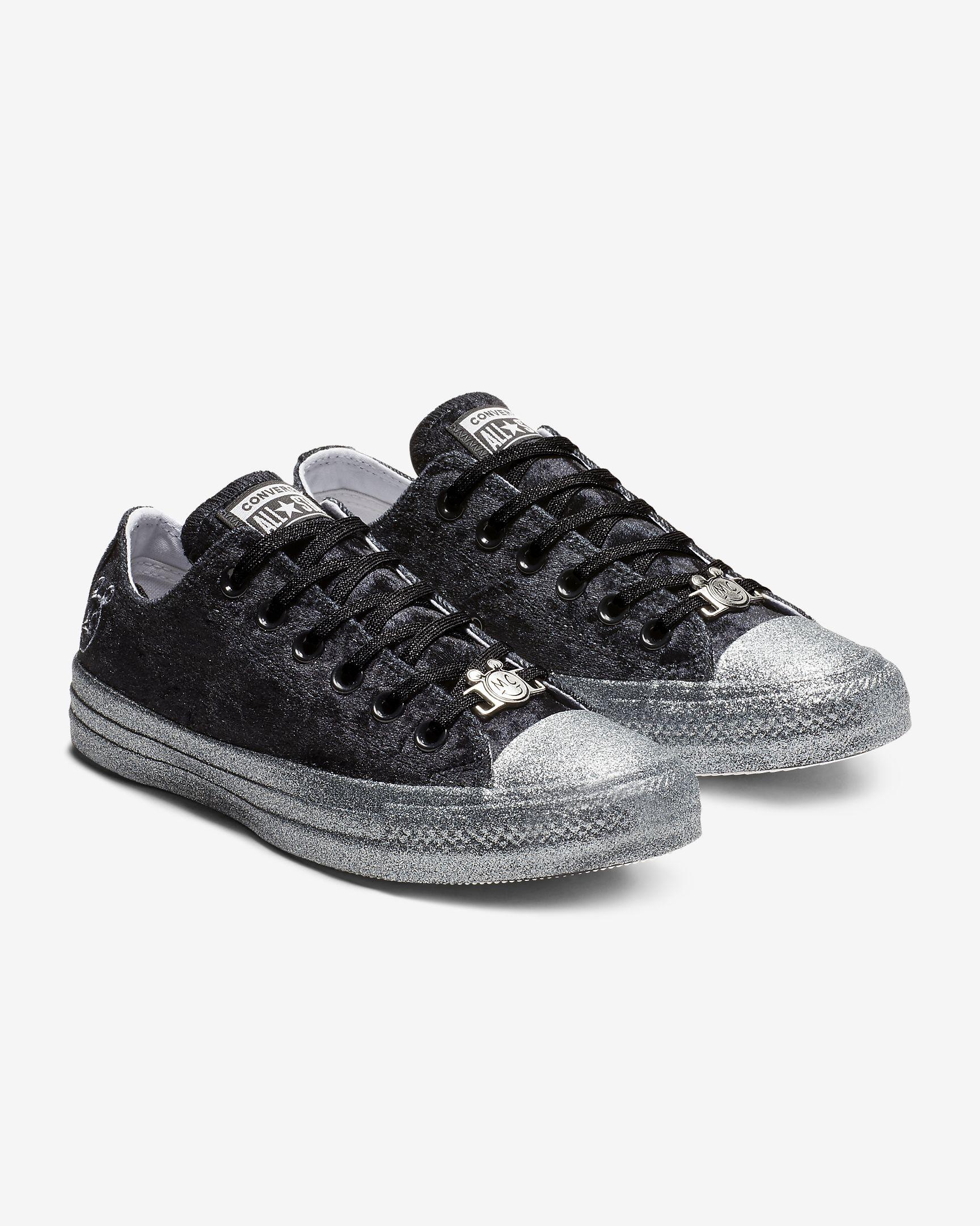 ead2180417164c Converse x Miley Cyrus Chuck Taylor All Star Velvet Low Top Women s Shoe