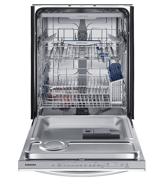 Samsung Top Control Dishwasher With Stormwash Model Dw80k7050ug Steel Tub Built In Dishwasher Best Dishwasher