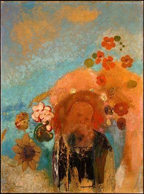 Evocation of Roussel Odilon Redon 1912  Art Print