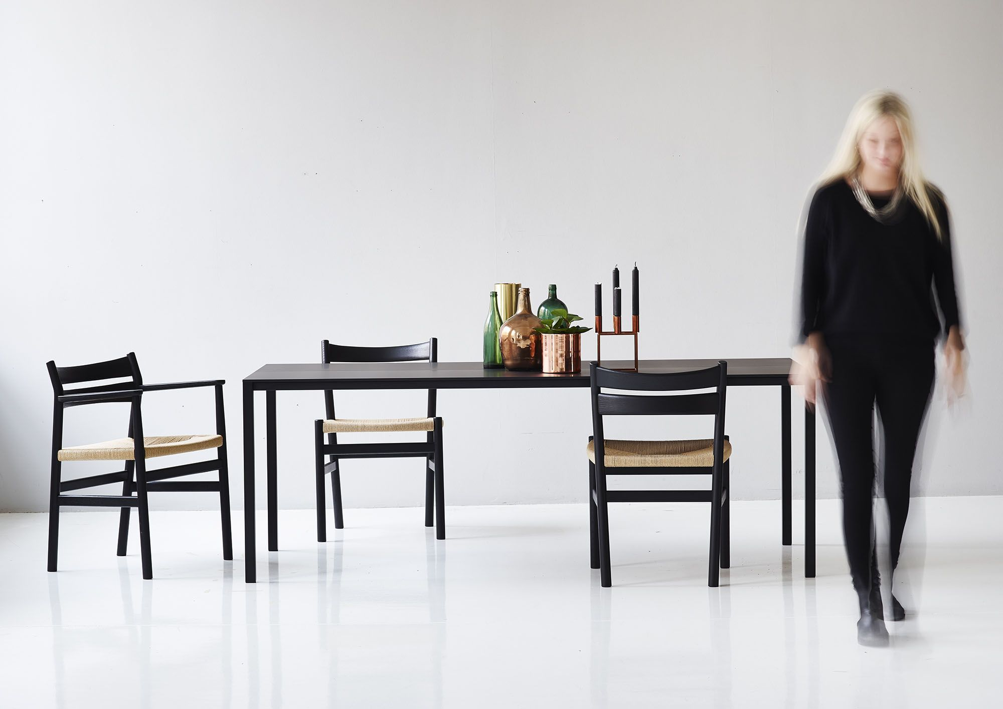 The BM1 & BM2 Chair by Børge Mogensen together with Less Is