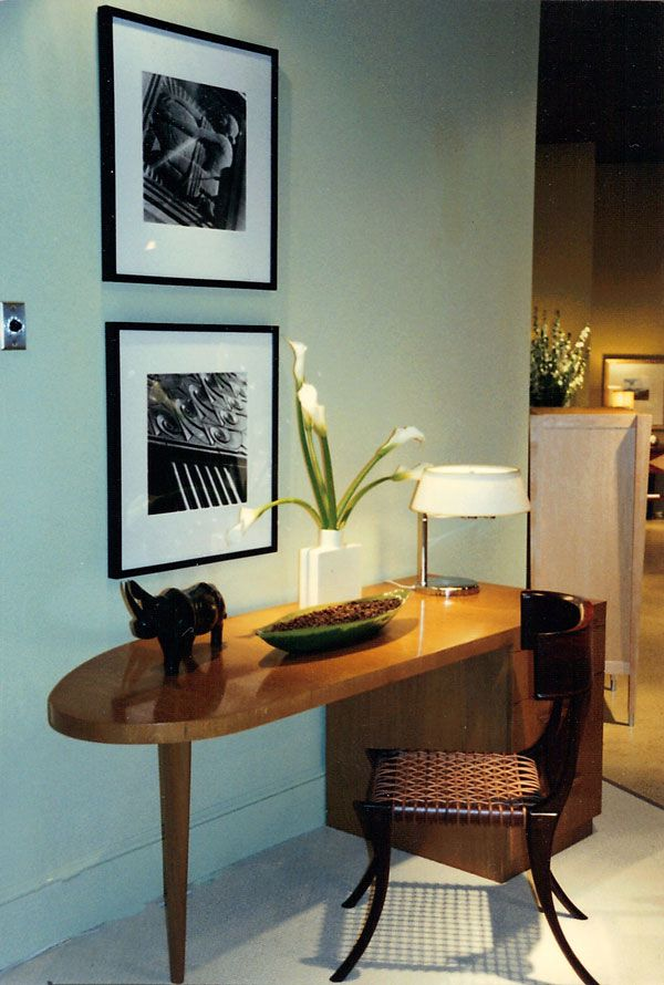 Project: Showroom Design For The April, 1998 Re Introduction Of A  Significantly Famous Mid Century Modern Furniture Collection By T.  Robsjohn Gibbings For ...