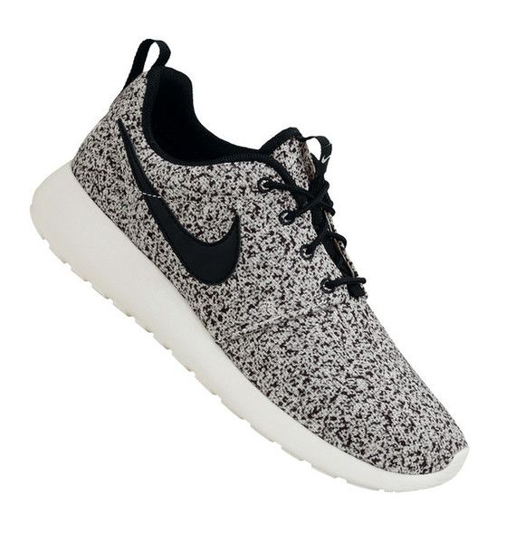 quality design 3dca6 0aa78 nike roshe black and white speckled