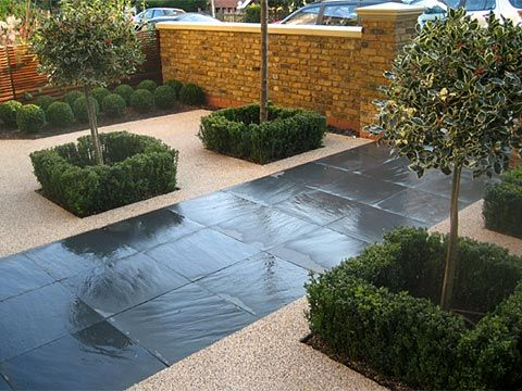 Garden Exterior Design An Elegant Paving Where Divide In 400 x 300