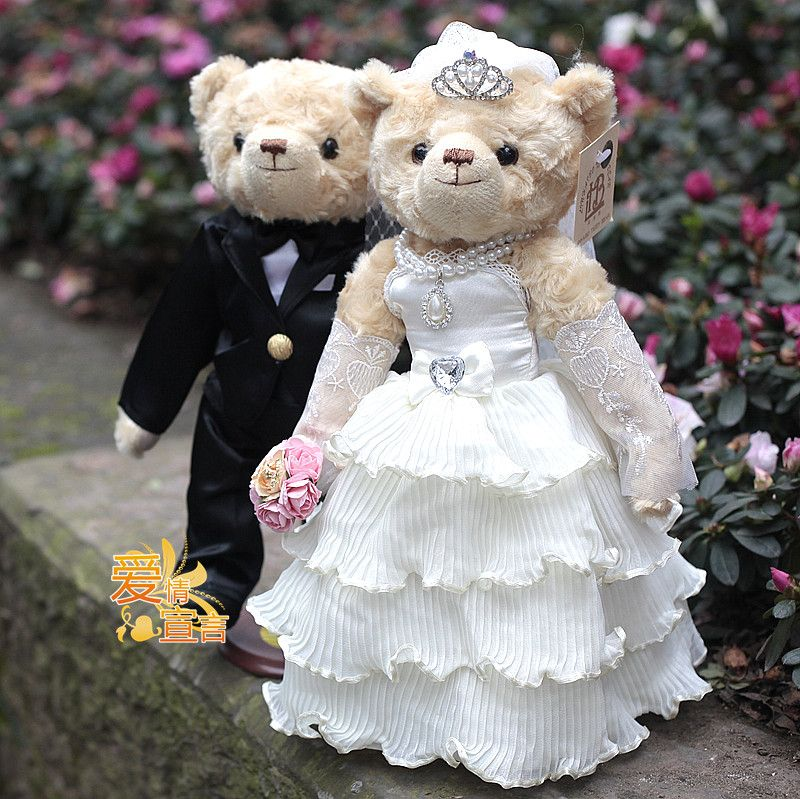 a5d5639dc9 Wedding Teddy Bears | Quality Wedding Teddy Bear ,movable joint ...