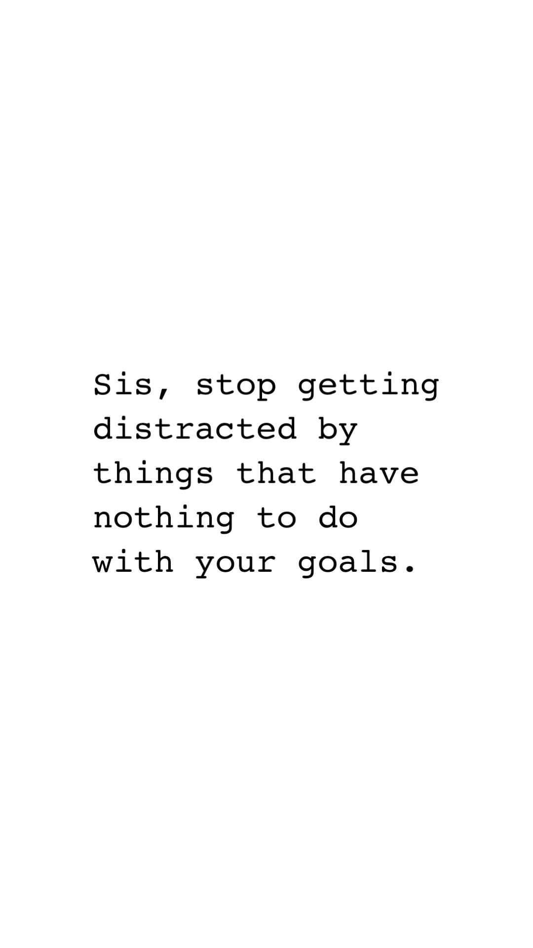 Stop getting distracted!! | Motivational Quote