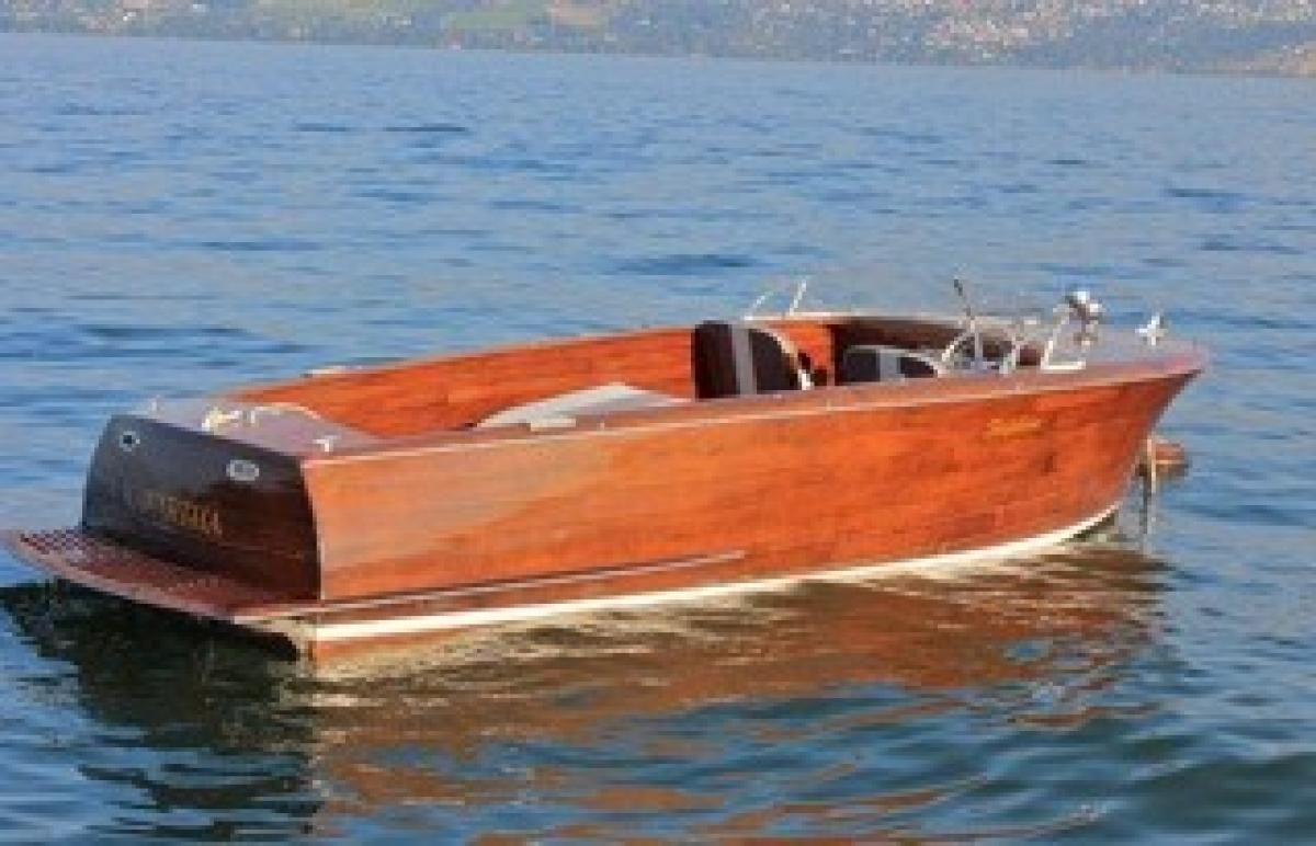 Wooden Boat For Sale 1952 Shepherd 22 Utility Excellent Project