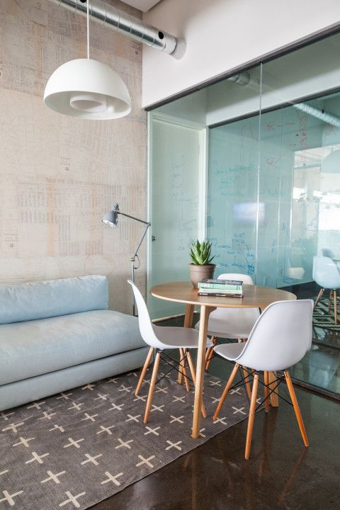 Clearly Defined Work And Chill Out Space Key To Harmony At Breather Meeting Room Design Office Interior Design Chill Out Room