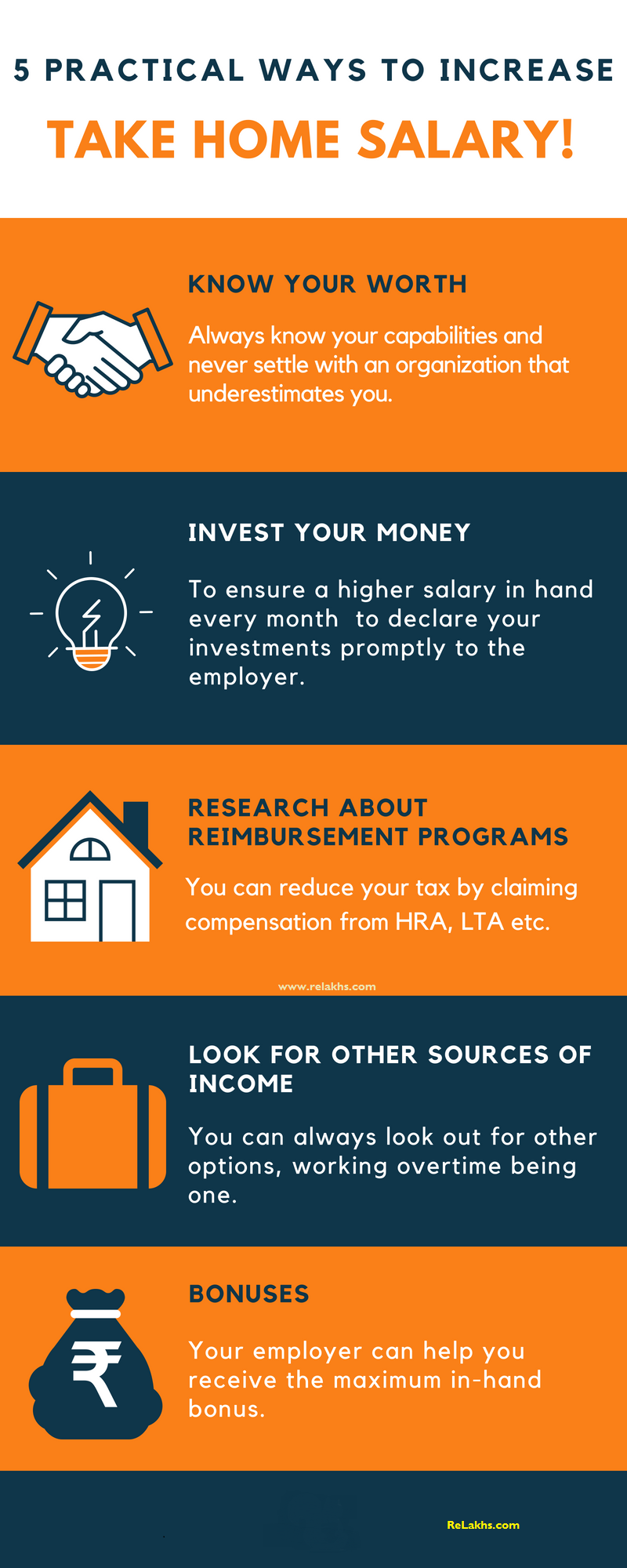 5 Practical Ways To Increase Your Take Home Salary Pay Salary