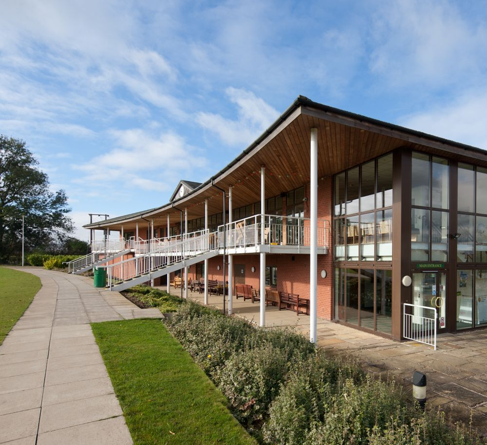 Rg P Kibworth Cricket Club A 2 Storey Cricket Clubhouse With Changing Facilities Bar And Lounge Tractor And Mowing Building Design Architecture Club House