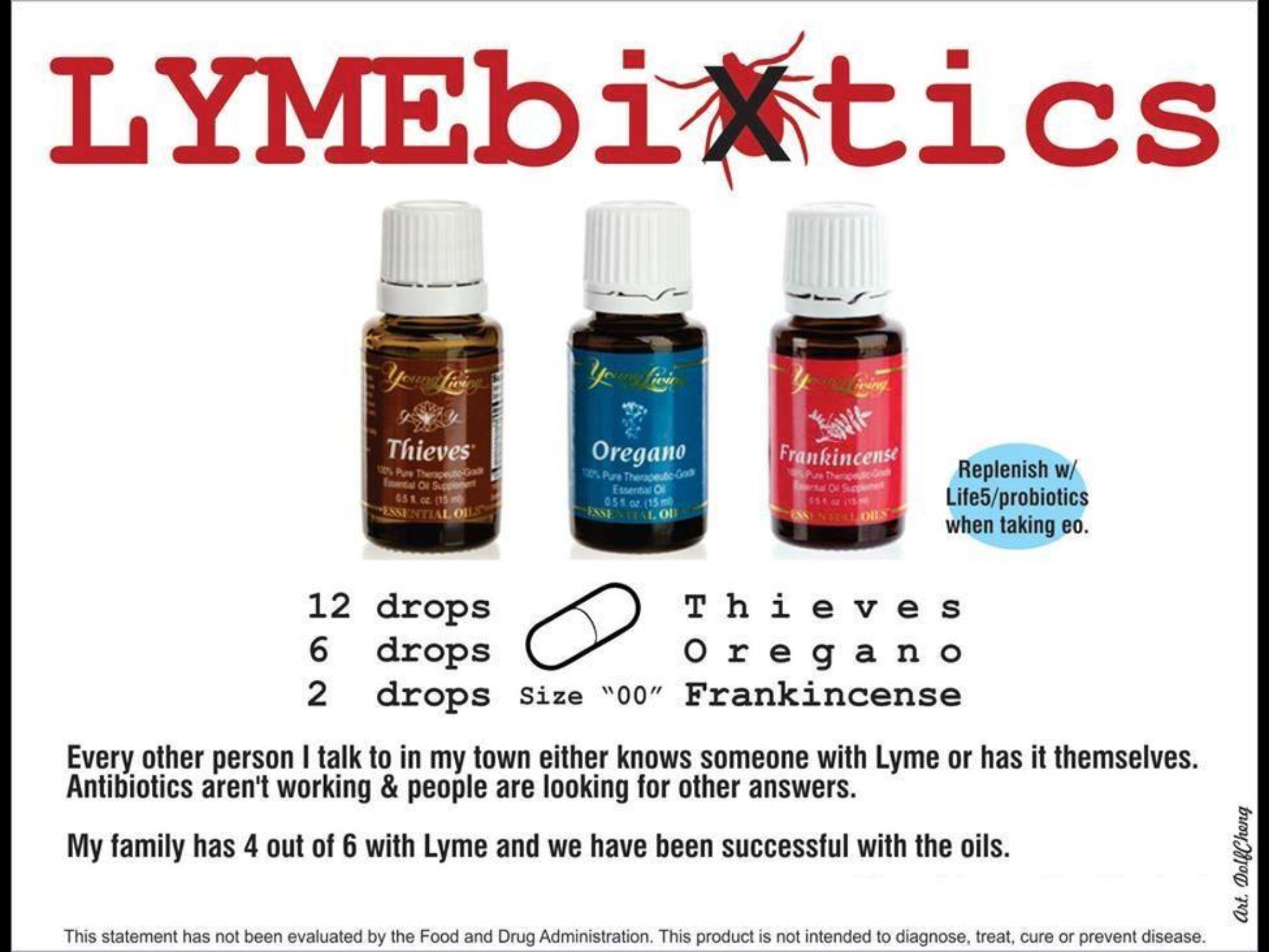 If you get Lyme disease | Essential Oils•DIY Blends | Essential oils