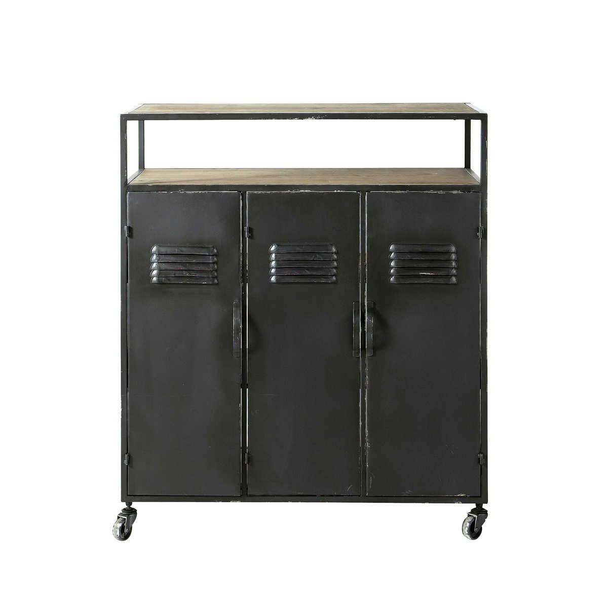 Industrial Bar Cabinet Cool Industrial Bar Cabinet With Vintage Feel That Will Work Well