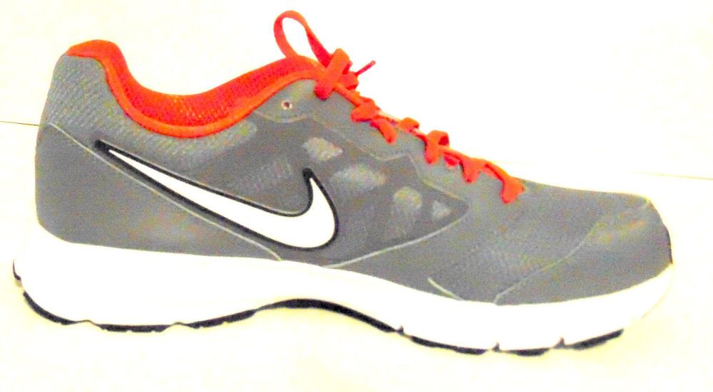 Nike Downshifter 6 Mens Grey Orange Running Shoes Size 11  Nike   AthleticSneakers 6186b07fb