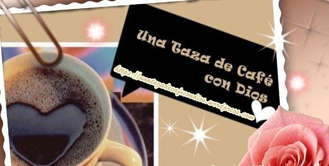 Banner Una Taza de Café con Dios!