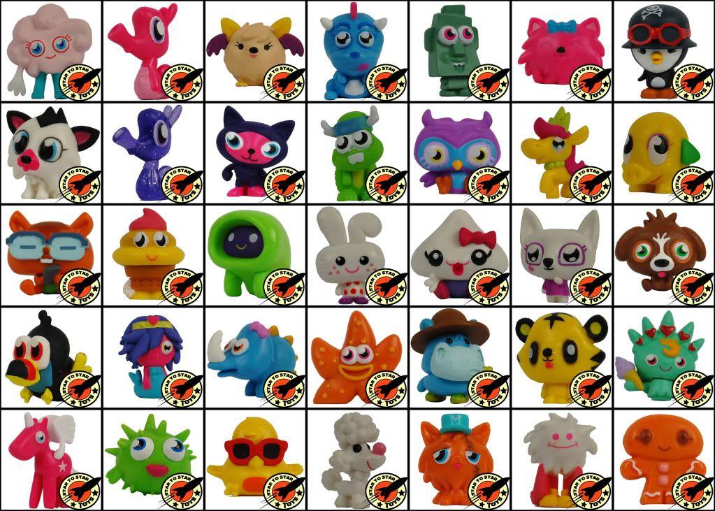 Moshi Monsters Moshlings Series 1 Figures New Moshi Monsters Moshi Monsters Toys Figures