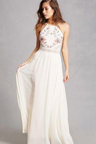 4c77a5a043ae Soieblu Embroidered Maxi Dress