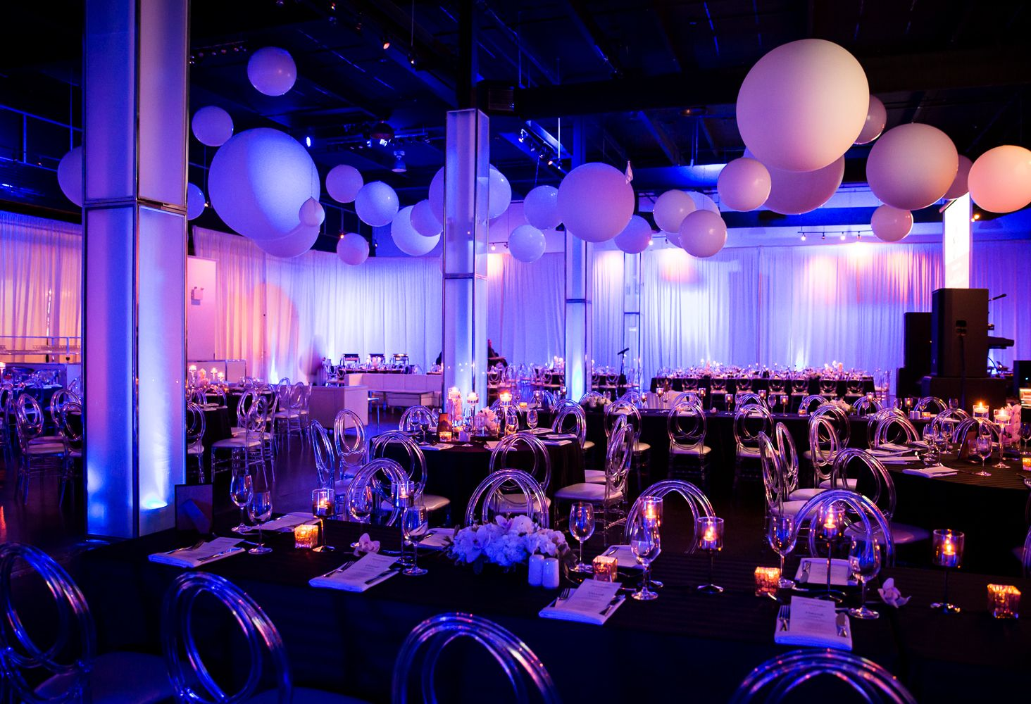 Reception At The Warehouse Event Venue