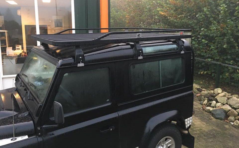 Tembo 4x4 Roofrack Defender 90 Tblr01