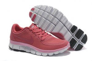 Nike Free 5.0 V4 2012 Womens Running Shoes Cheap Pink for Sale