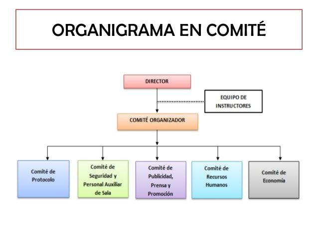 Ejemplo De Organigrama En Comite Organigrama Y Tareas