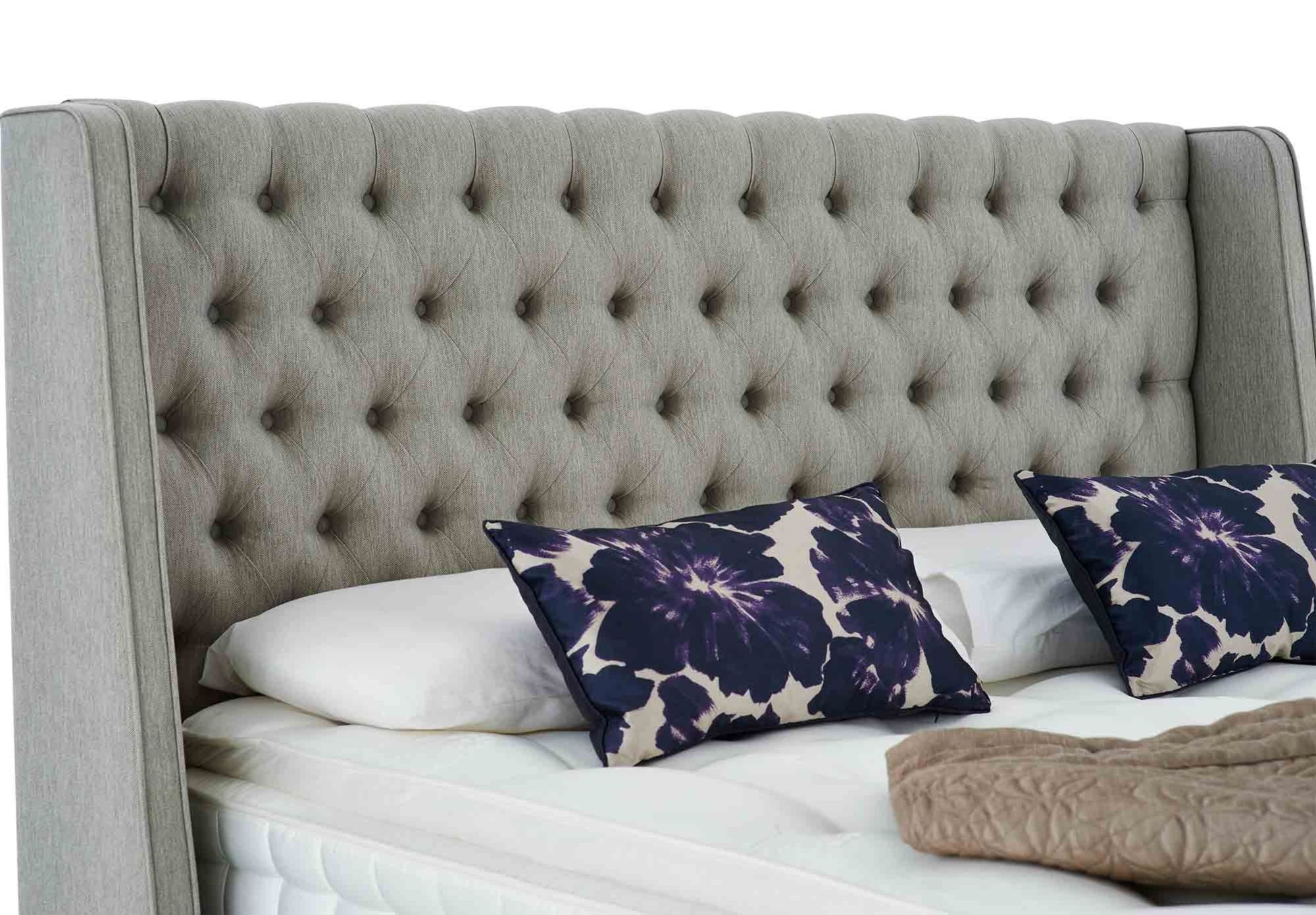 Furniture Village Hartford Sofa Super King Size Upholstered Headboard Hypnos Lewestone Headboard